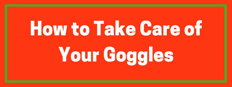 Take Care of Snowmobile Goggles