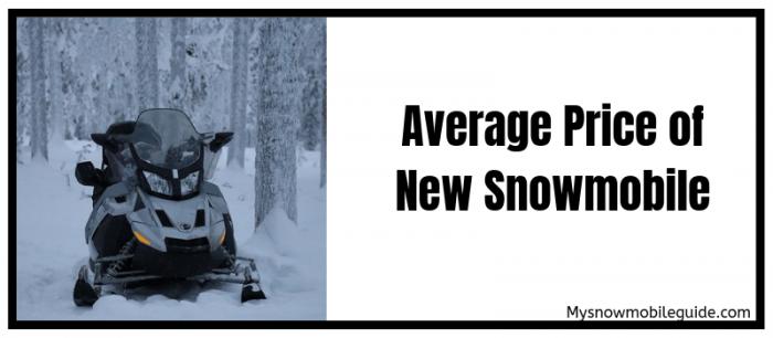 average price of new snowmobile
