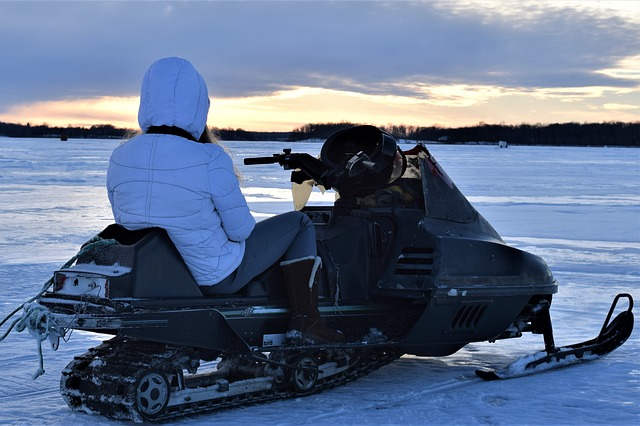 Listen to your body while snowmobiling