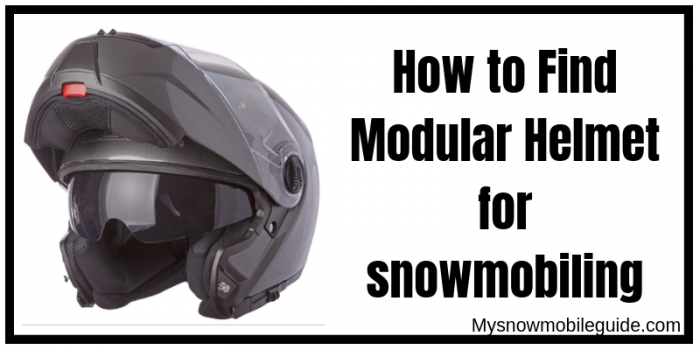 Finding the best snowmobile modular helmets