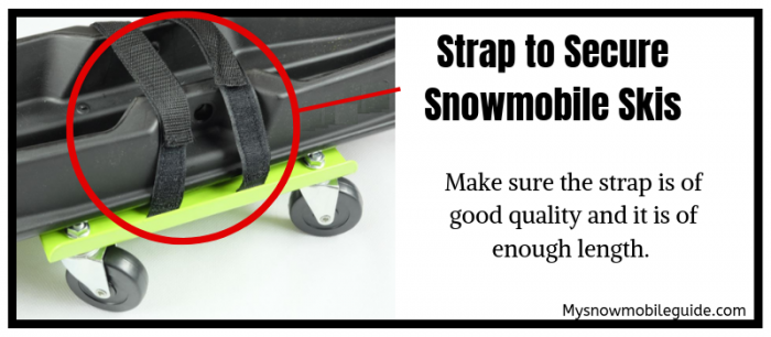 Straps for Snowmobile Ski Dollies