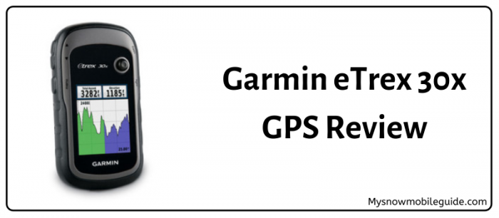 2019 Review of Garmin eTrex 30x GPS