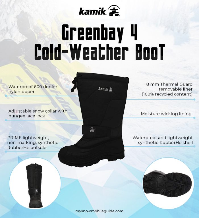Kamik Greenbay 4 Snowmobile Boots