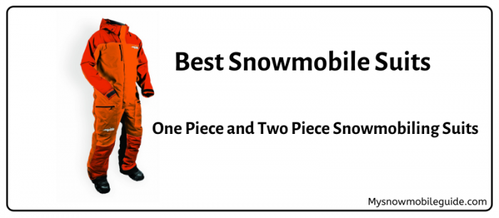 Best Snowmobile suits