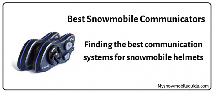 Snowmobile Communicators