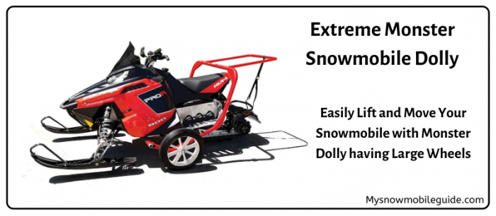 Best snowmobile dolly with wheels