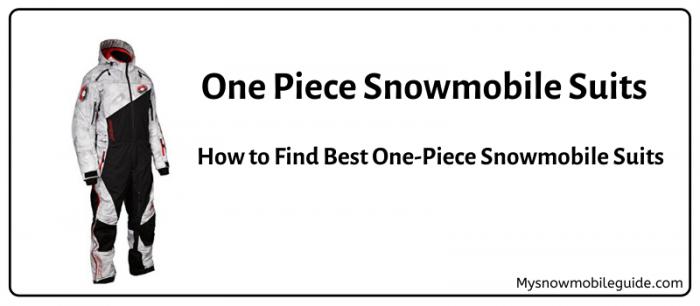 Snowmobile Monosuits