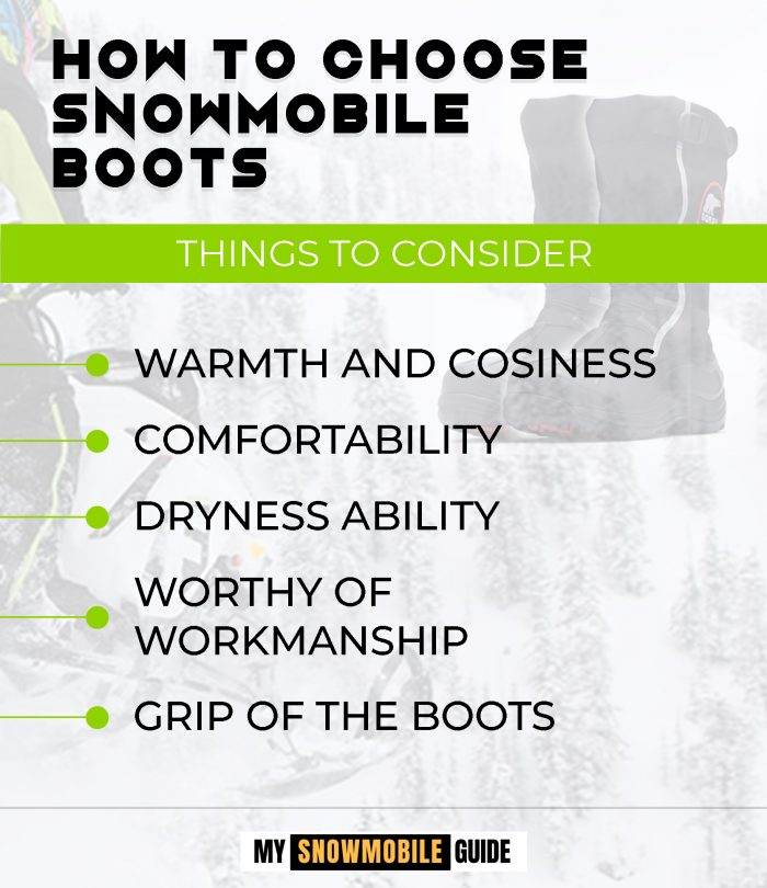 Buying Boots for Snowmobiling