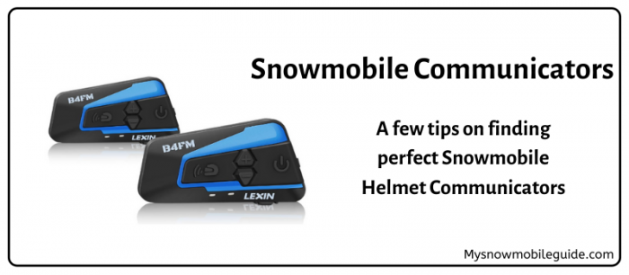 Snowmobile Helmet Walkie Talkies