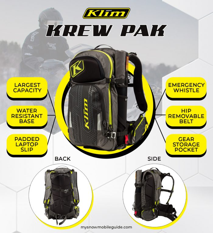 Best Snowmobile Backpack