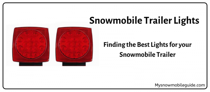 Best snowmobile trailer lights