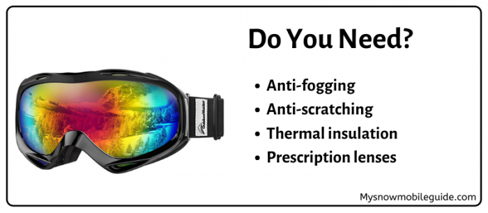 anti fog, anti scratch, thermal goggles