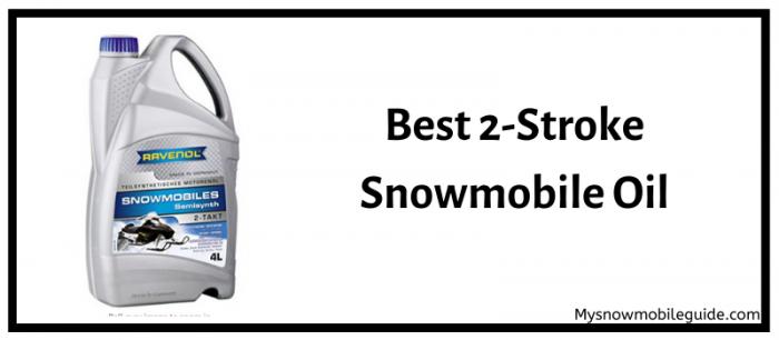 Best 2 stroke snowmobile oil