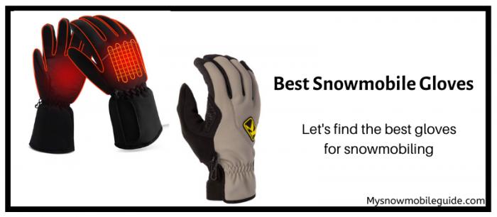 Snowmobile Gloves