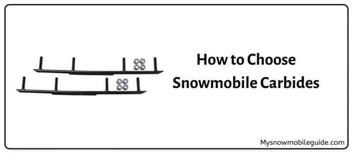 Carbides for snowmobile