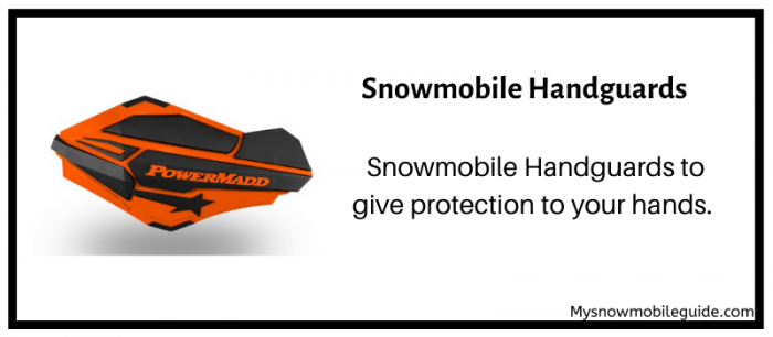 Snowmobile Handguards