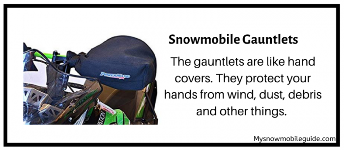 Snowmobile handlebar muffs