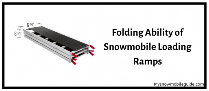 truck bed snowmobile ramp