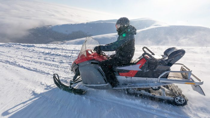 comfortable helmet for snowmobile riding
