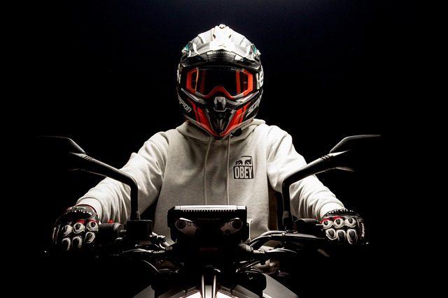 using snowmobile helmet on motorcycle