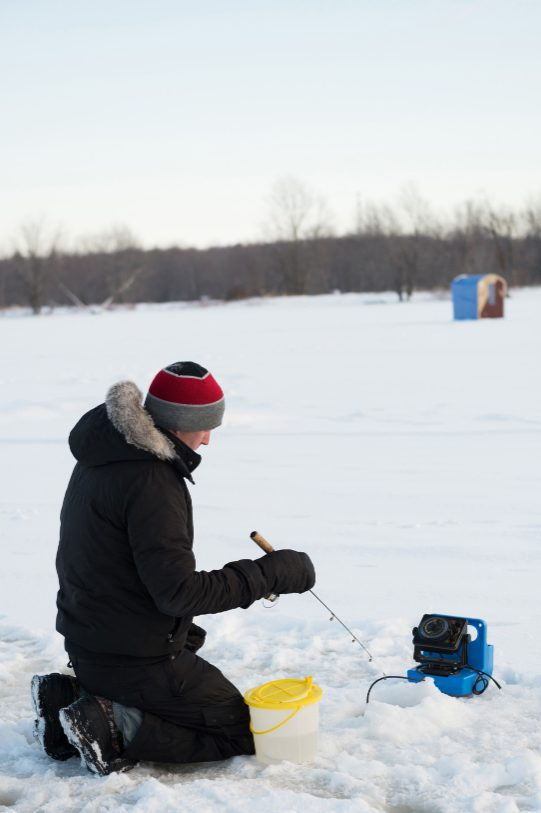 how to choose ice fishing heater