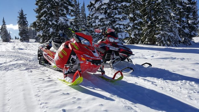 best open and enclosed trailer for snowmobile